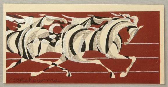 Nakayama Tadashi: Running Horses - Artelino
