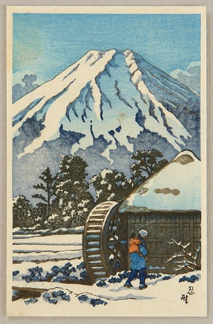 Unknown: Mt. Fuji in Winter - Artelino