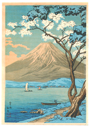 高橋弘明: Mt.Fuji and Lake Yamanaka - Artelino