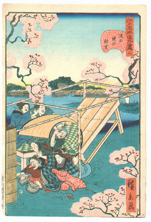 Utagawa Hirokage: Edo Meisho Goge Zukushi - Artelino