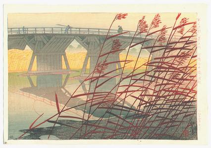 笠松紫浪: Imai Bridge - Artelino