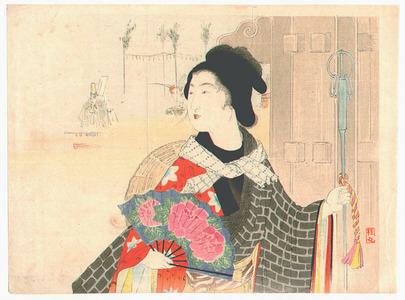 Takeuchi Keishu: Festival Day (Kuchi-e) - Artelino