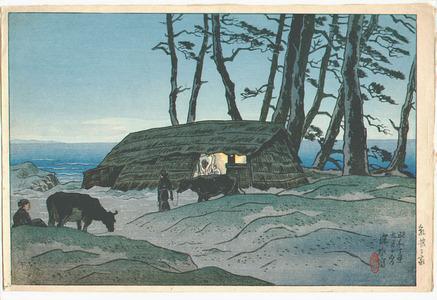 Ito Shinsui: Milking Hut - Oshima Juni Kei - Artelino
