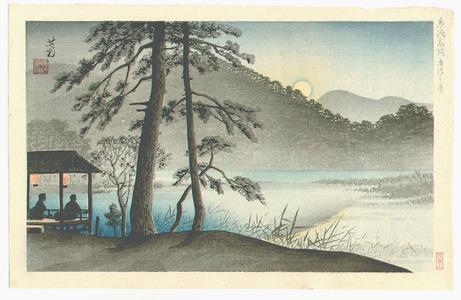Nomura Yoshimitsu: Hirosawa Pond - Kyoraku Meisho - Artelino