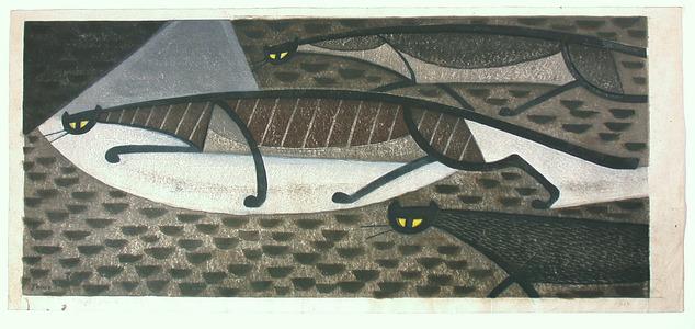 Inagaki Tomoo: Night Prowl of Cats - Artelino
