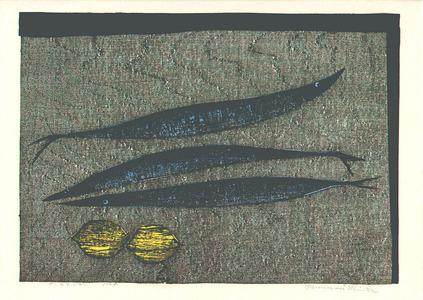 Shima Tamami: Fish and Lemons - Sanma to Lemon - Artelino