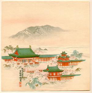 幸野楳嶺: Heian Shrine - Artelino