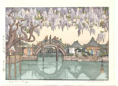 吉田遠志: Half Moon Bridge - Taikobashi - Artelino
