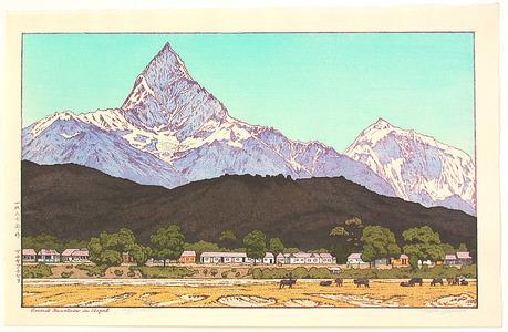 吉田遠志: Sacred Mountain in Nepal (Limited Edition) - Artelino