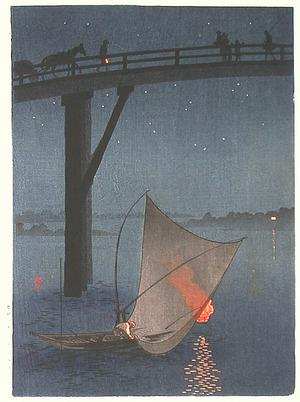Arai Yoshimune: Fishing Boat (Muller Collection) - Artelino