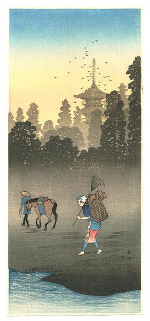 Takahashi Hiroaki: Evening Bell - Bansho - Artelino