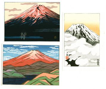 無款: Mount Fuji (Three Small Prints) - Artelino
