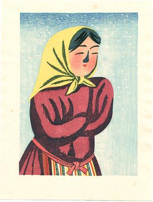 前川千帆: Crossed Arms - Girls of the Field - Artelino