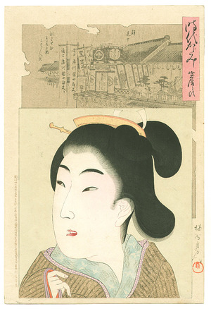 Toyohara Chikanobu: Jidai Kagami - 6 - Artelino