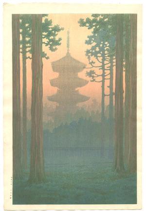 Ito Yuhan: Pagoda at Nikko - Artelino