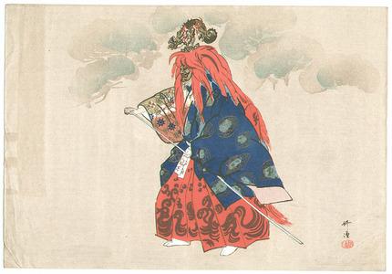 Tsukioka Kogyo: Dragon God - Noh Play - Artelino