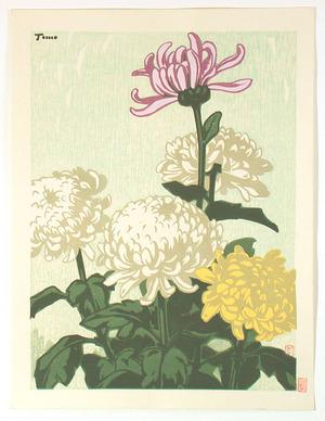 Inagaki Tomoo: Chrysanthemums - Artelino