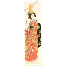 代長谷川貞信〈3〉: Musume Dojoji - Artelino