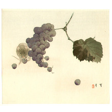 Watanabe Seitei: Mouse and Grapes - Artelino