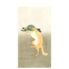 Ohara Koson: Dancing Fox - Artelino