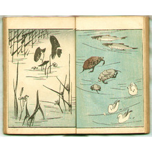 歌川広重: Ryusai Sohitsu Gafu (e-hon, book) - Artelino