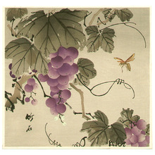 Nagamachi Chikuseki: Grape and Wasp - Artelino