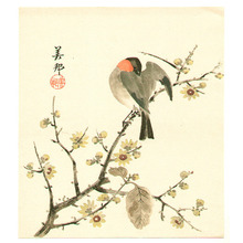 Takahashi Biho: Bird on Branch - Artelino