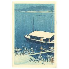 Kawase Hasui: Arakawa River (small size) - Artelino