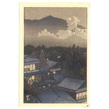 Kawase Hasui: Clouds and Mountain Resort - Artelino