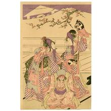 Utagawa Toyohiro: Toy Horse Dance - Artelino