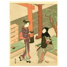 Suzuki Harunobu: Tea House - Artelino