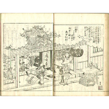 Kitao Masayoshi: Famous Places on the Tokaido Vol.5 - (e-hon) Tokaido Meisho Zue - Artelino