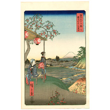 歌川広重: Tea House - Thirty-six Views of Mt.Fuji - Artelino