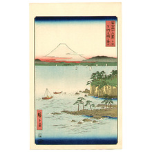 歌川広重: Miura Peninshula - Thirty-six Views of Mt.Fuji - Artelino