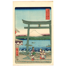 歌川広重: Enoshima - Thirty-six Views of Mt.Fuji - Artelino