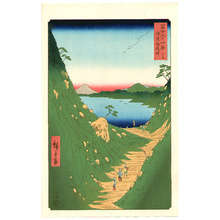 歌川広重: Shiojiri Pass - Thirty-six Views of Mt.Fuji - Artelino