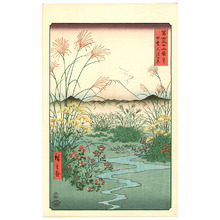 歌川広重: Ohtsuki Plain - Thirty-six Views of Mt.Fuji - Artelino