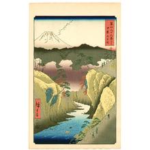 Utagawa Hiroshige: Dog Eye Pass - Thirty-six Views of Mt.Fuji - Artelino