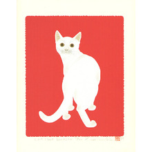 Ono Tadashige: Cat Look Back 2W (limited edition) - Artelino