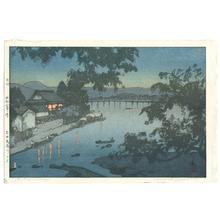 吉田博: Chikugo River (Jizuri) - Artelino