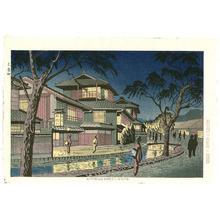 Fujishima Takeji: Kiyamachi Street, Kyoto - Artelino