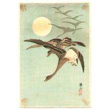 Ito Sozan: Homing Geese (postcard size print) - Artelino
