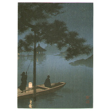 古峰: Lake Biwa (first edition) - Artelino