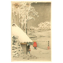 高橋弘明: Night Snow at Ikegami (postcard size print) - Artelino