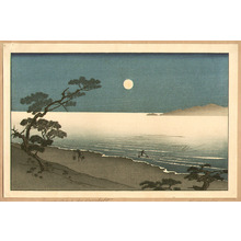 Arai Yoshimune to Attributed: Moon and Suma Beach - Artelino
