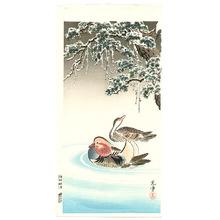 風光礼讃: Mandarin Ducks - Artelino