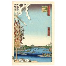 Utagawa Hiroshige: Asakusa River - One Hundred Famous View of Edo - Artelino