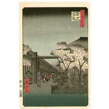 Utagawa Hiroshige: Yoshiwara - One Hundred Famous Views of Edo - Artelino