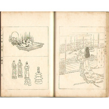 Ogata Gekko: Sketches by Gekko - Irohabiki Gekko Manga Vol.7 of 1st Set (e-hon: First Edition) - Artelino