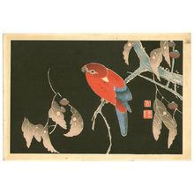 伊藤若冲: Fantasy Red Bird - Artelino